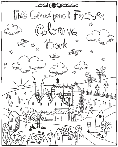 coloring book front cover coloring pages | ASTROGRASS FOR KIDS